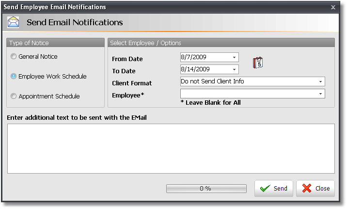 employee notices